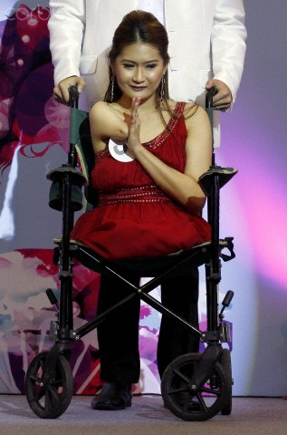 Miss Wheelchair Thailand 2012